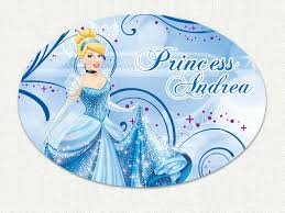 Disney Princess Cinderella Custom Name Wall Decal