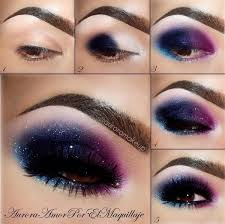 smoky purple eye makeup tutorials