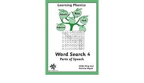 Amazon | Word Search: Parts of Speech Book 4 | King, Hilda ...