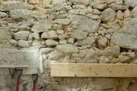 old stone walls refurbishment