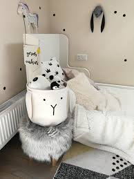 Wall And Room Handmade Felt Bunny Basket Nordic Kid S Room Storage Free Shipping