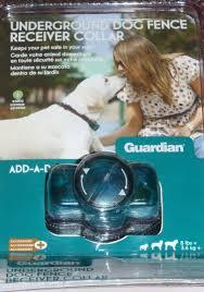 Guardian Underground Fence Receiver Collar Add A Dog Amazon Ca Pet Supplies