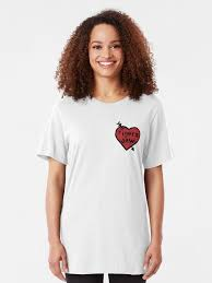 Tigers Jaw Heart Decal T Shirt By Katiej188 Redbubble
