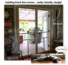 installing screen doors on french doors