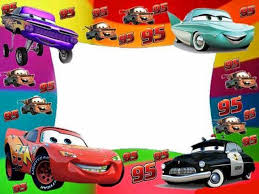cars free printable photo frames