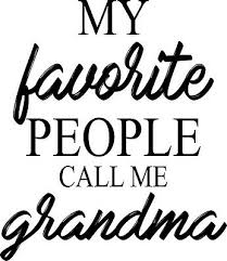 Custom Vinyl Car Decal My Favorite People Call Me Grandma Granny Nana Mimi Ebay