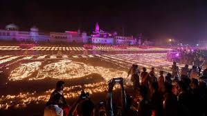 New history created in Ayodhya as over six lakh diyas light up Sarayu's banks