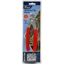 High Quality Netting Net Wire Mesh Fencing Clip Pliers 16mm With Bonus Clips Ebay
