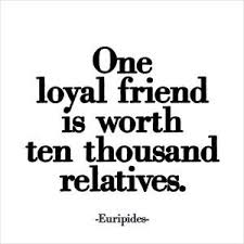 friendship quotes quotable card one loyal friend quotes