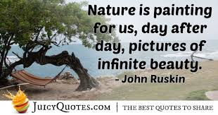 nature is painting for us quote picture