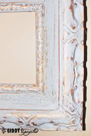 french vintage look with chalky finish