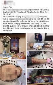 Bắt khẩn cấp bố dượng, mẹ đẻ bạo hành bé gái 3 tuổi tử vong thương ...