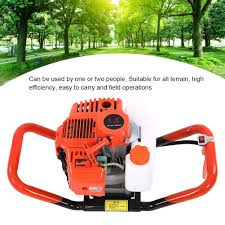 Powered Borer Fence Post Hole Digger Earth Auger 52cc Shopee Philippines