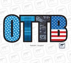 Ottb Decal Two Styles Fowl Dog