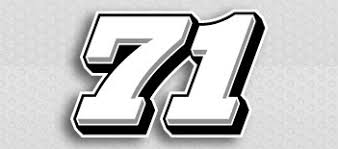 The Side Draft Race Car Number Decal Kit Racing Graphics Lettering