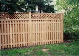 Shadow Box With Lattice Top Wood Fence Design Privacy Fence Designs Fence Design