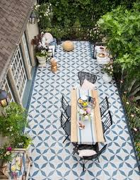 hawk patio floor in buniel design