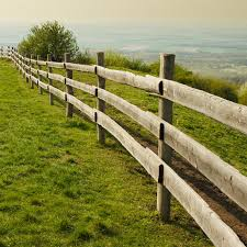 How To Build A Post And Rail Fence Timber Shops