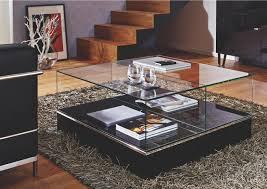 Couchtisch Glas Quadratisch Design