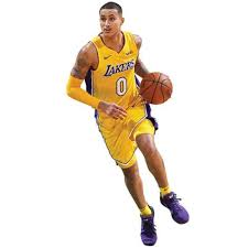 Kyle Kuzma Los Angeles Lakers Fathead Life Size Removable Wall Decal Walmart Com Walmart Com