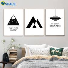Cartoon Explore Mountain Quote Nordic Posters And Prints Wall Art Canvas Painting Black White Wall Pictures Baby Kids Room Decor Picture For Living Room Wall Picturescanvas Painting Aliexpress
