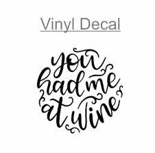 Nurse Monogram 3 Vinyl Decal Sticker For Wine Glass Tumbler Cup Mug Car 2 49 Picclick