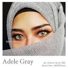 ADELE GRAY - HSD 1 NĂM – GEM Contact lens