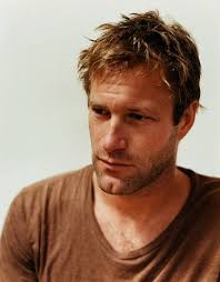 aaron eckhart and his magnificent chin, would love to nibble on ...