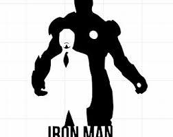 Iron Man Car Decal Etsy
