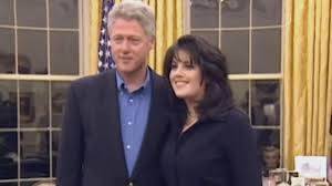 Monica Lewinsky Looks in Awe of President Clinton in Newly Surfaced Video -  YouTube