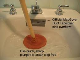 unclog your sink drain with hot water