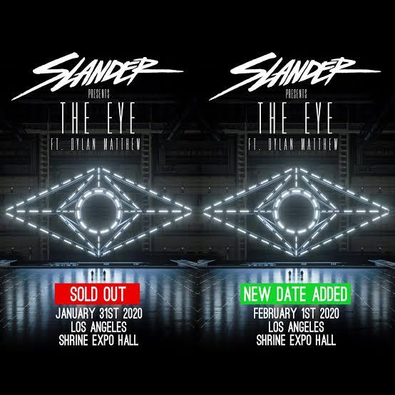 """SLANDER Announce """"THE EYE"""" Tour ile ilgili görsel sonucu"""""""