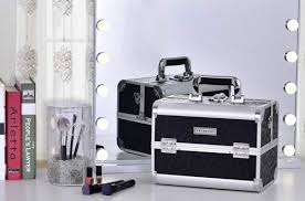 professional makeup train cases
