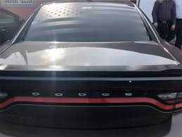 06 19 Dodge Charger Rear Window American Flag Decal Sticker Banners Onlineamericanstore
