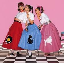the clic poodle skirt the 50 s