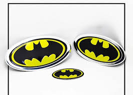 Batman Car Emblem Decal Sticker Car Styling Hero Batman Logo Fender Gas Tank Hood Badge Fit For Kia Bmw Ford Focus Auto Parts Car Stickers Aliexpress