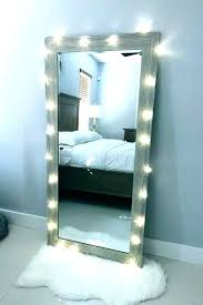 mirror mirror with lights full length