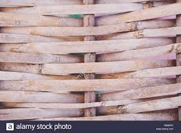 Background Of Reed Reed Isolated Traditional Fence Made Of Bamboo Reed Asian Style Stock Photo Alamy