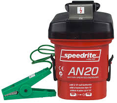 Speedrite An20 Battery Operated Energizer Fencer Datamars Livestock Chargers Electric Fencing