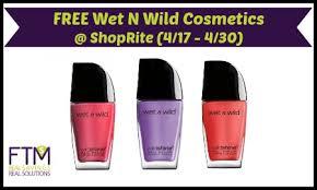 rite free wet n wild cosmetics
