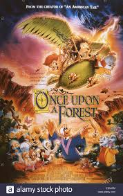 ONCE UPON A FOREST, US poster, from left: Abigail, Russell, Edgar Stock  Photo - Alamy