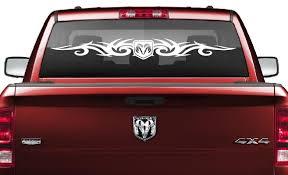 Dodge Ram Tribal Rear Window Decal Vinyl Decal Stickers Sticker Flare Llc