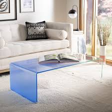 clear coffee tables that will make your