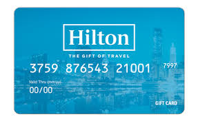 hilton gift card at the drake hotel
