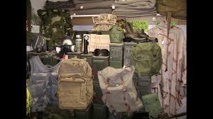 military surplus overnighter