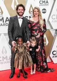 Thomas Rhett's Kids At CMA Awards 2019: Willa & Ada Walk Red ...