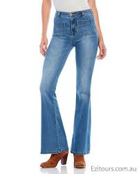 rosie ultra high rise flare jeans