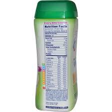 gerber organic brown rice cereal 8