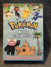 New Pokemon Alola Collection includes 4 Chapter Books by Jeanette ...