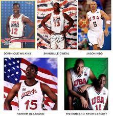 História Basq Masc: Seleções dos EUA com jogadores da NBA 1992-2004